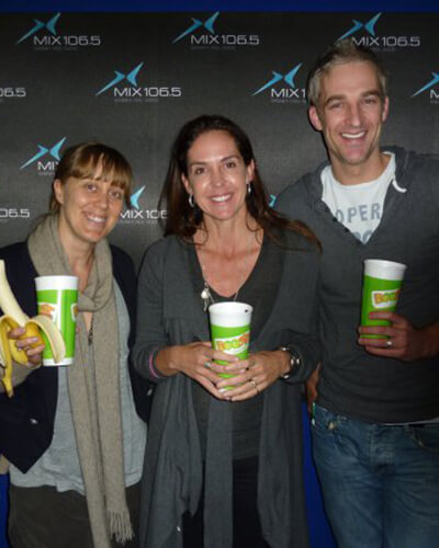 Janine Allis, Andrew Rochford and Claire Hooper