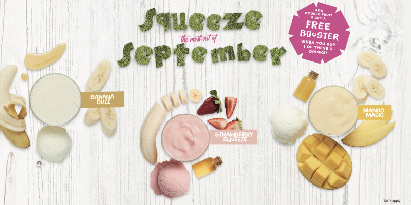 Squeeze the most out of September!