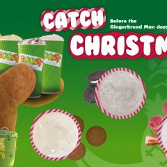 Catch Christmas at Boost before the gingerbread man does!